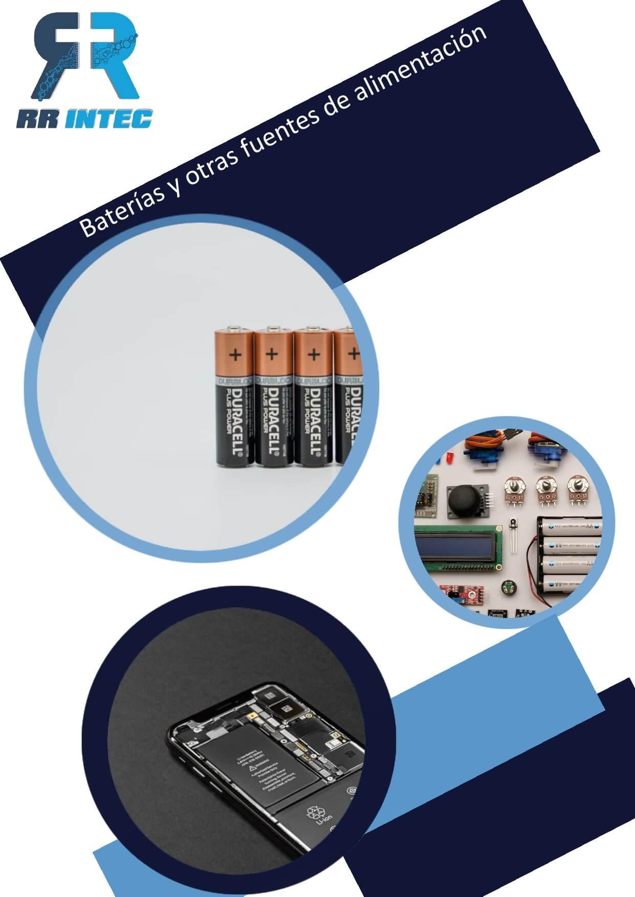 12. Baterias y otras fuentes de alimentación
